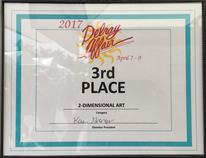 Delray Affair 2017 - 3rd place