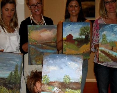 South Tampa Galleries - Michelle Hinz Art Gallery - Workshop