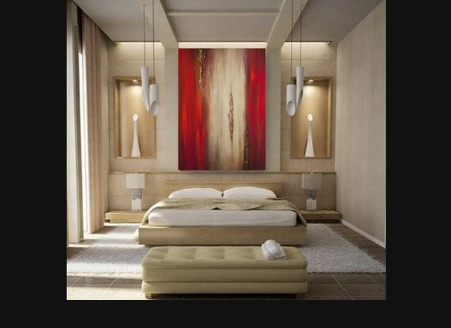 Red Painting – Bedroom