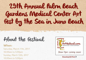 Michelle Hinz at 29th Annual Palm Beach Gardens Medical Center Art Fest @ 29th Annual Palm Beach Gardens Medical Center Art Fest | Juno Beach | Florida | United States