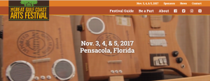 Michelle Hinz at Great Gulfcoast Arts Festival 2017 @ Seville Square | Pensacola | Florida | United States
