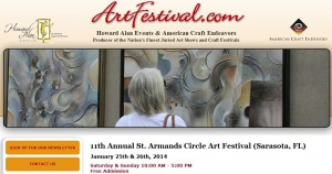 Michelle Hinz at St. Armands Art Festival @ St. Armands Art Festival | Sarasota | Florida | United States