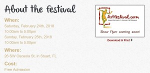 Michelle Hinz at Stuart Fine Art Festival @ Downtown Stuart | Stuart | Florida | United States