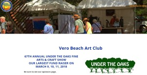 Michelle Hinz at Under the Oaks Fine Arts and Crafts Show @ Riverside Park in Vero Beach, FL (Orchid Island) | Vero Beach | Florida | United States