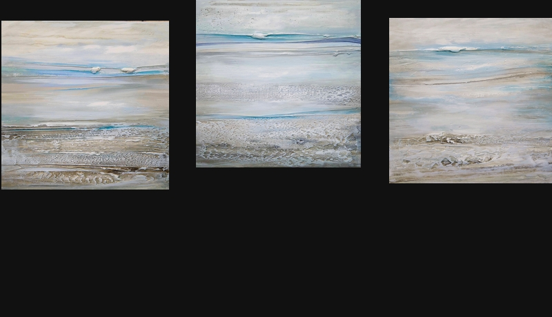 2185-87 Seascapes (3) 18×18 – sold separately
