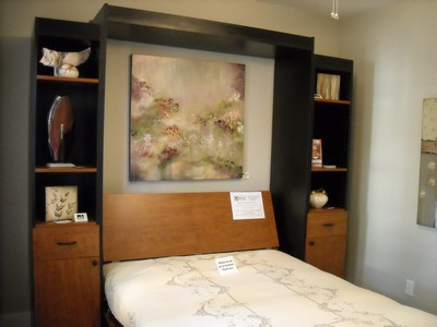 Michelle Hinz Idea Artwork For A Murphy Bed